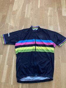Milltag XL Stripes Cycling Top Rapha Style