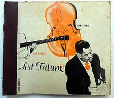 "ART TATUM w/ TINY GRIMES Trio 2 x 78"" David Stone Martin cover art JAZZ   w"