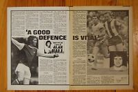 SHOOT MAGAZINE 1973 ARSENAL   48 'SOCCER AS I SEE IT  ALAN BALL' ARTICLES
