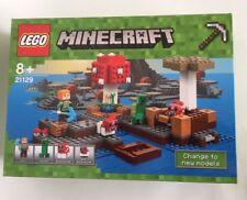 LEGO 21129 MINECRAFT THE MUSHROOM ISLAND Retired IN STOCK IN OZ New