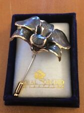 Royal Orchid Collection Green Orchid Pin (See Description)