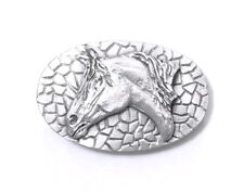 WESTERN PEWTER HORSE HEAD MONEY CLIP 13505 new jewelry gift