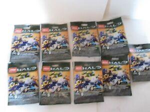 Lot 9 Packs Mega Construx Halo Infinite 1