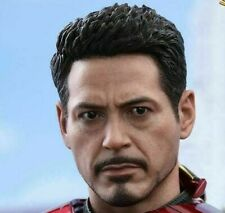 HOT TOYS1/6  MARK 47  SPIDERMAN HOMECOMING IRONMAN HEAD SCULPT - US SELLER-