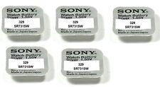 Envoi avec suivi - Sony Piles Bouton 329 / Sr731sw -1 55 Volt