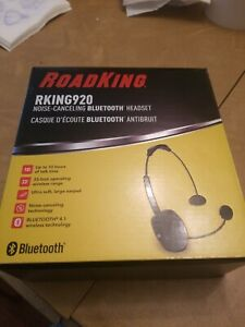 New RoadKing 920 Bluetooth headset tested and shipped first class mail.