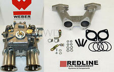 MGB 1962-1974 Weber DCOE kit w/ Cannon manifold, Genuine 45 DCOE, & linkage