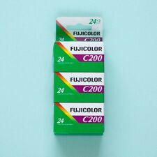 Fujicolor C200 3 Pack 35mm Film