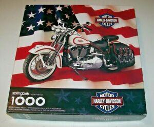 Springbok 1000 piece puzzle PZL6198 Harley Davidson 1998