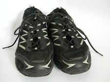Riddell Mens Black Leather Shoes Size 9