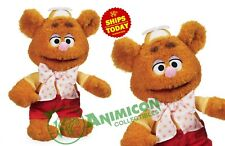 "Disney Store FOZZIE PLUSH Small MUPPET BABIES 13"" PARKS SOFT TEDDY BEAR NEW 2018"