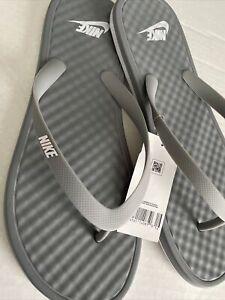NWT NIKE ONDECK FLIP FLOP Men's Thong Sandal SZ 13 Particle Grey