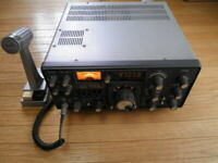 YAESU FT-101ZD HF SSB Transceiver Microphone Amature Ham Radio Japan Unconfirmed