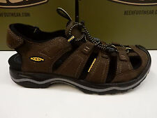 KEEN MENS SANDALS RIALTO BISON BLACK SIZE 13