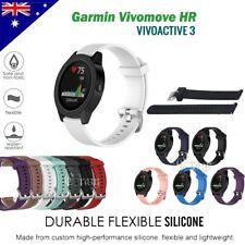 Replacement Wrist Band Silicone Band Strap for Garmin Vivomove HR / Vivoactive 3