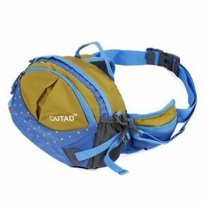 OUTAD Waterproof Nylon Multifunction Shoulder / Waist / Bum Bag, Camp Run Climb