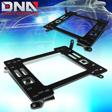 FOR 2007-2013 BMW E90 COUPE PAIR STEEL RACING SEATS MOUNTING BRACKETS RAIL/TRACK