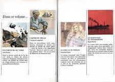 4 Titres:Les Porteurs De Terre/L'Hiver Du Pékan/Le Cercle De Perles/Survivant Du
