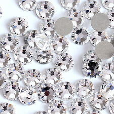 1440pcs SS3 ~SS8 3d Art Ongles embouts STRASS PAILLETTES DOS PLAT NON Art DIY