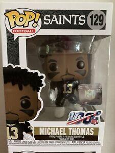 NFL 100 POP  MICHAEL THOMAS Vinyl Figure #129 BLACK JERSEY