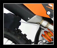 Tire Ressorts Silencieux Pot Ligne Echappement Cross Enduro Quad Café Racer NEUF