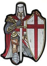 Large St George English Crusader Knight Biker Motorcycle Cruiser Back Patch