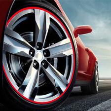 20 Strips Car RIM Stripe Wheel Decals Tape Reflective Stickers For BMW F10 M3 M5