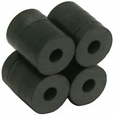 "3/4""OD X 1/4""ID X 3/16"" thick Ceramic Ring- Ceramic/Ferrite Magnet, Grade"