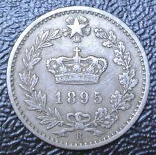 1895 R ITALY - 20 CENTESIMI - Copper Nickel - Nice
