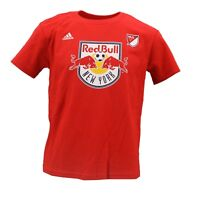 New York Red Bulls MLS Adidas Youth Kids Size Thierry Henry T-Shirt New Tags