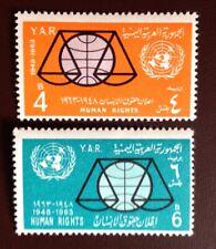Yemen 1963 Human Rights MNH