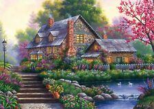 Ravensburger - 1000 PIECE JIGSAW PUZZLE - Romantic Cottage