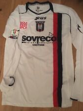 Crotone Match Worn Maglia Calcio Indossata Preparata Player issue football shirt