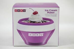 Zoku Ice Cream Maker, Stainless Steel