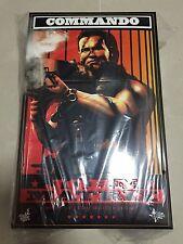 Hot Toys MMS 276 Commando John Matrix Arnold Schwarzenegger 12 inch Figure NEW
