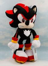 """Sonic The Hedgehog 11"""" Black Shadow Sonic Soft Plush Doll Figure Animal Kid Toy"""