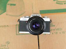 Minolta XG-1 35mm SLR Film Camera w/ MD 50mm 1:2 Lens