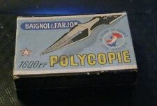 BOITE DE PLUMES 38 BAIGNOL & FARJON POLYCOPIE A PLUME DE FRANCE, COQ GAULOIS 160