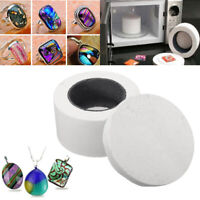 12cm Microwave Kiln For Glass Fusing Jewelry Necklace Pendant Making Craft Tool