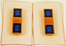 US Navy Naval USN Warrant Officer One WO-1 W-1 Rank Insignia Pair Flight Suite