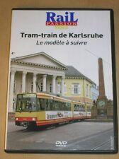 RARE DVD DOC / RAIL PASSION / TRAM-TRAIN DE KARLSRUHE, MODELE A SUIVRE / TR B E