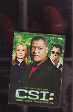 CSI season 10 (7 dvd set)   <<<<region 1 usa import>>>>>