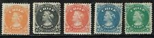 CHILE1867 STAMP # 14/8 MH FIRST PERFORATED ISSUE COLUMBUS