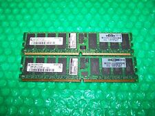 HP 4GB (2x 2Gb) DDR2 PC2-3200R 400 MHZ REG ECC RAM per server