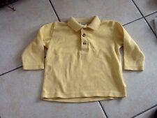 polo jaune 18 mois