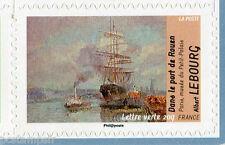 FRANCE 2013, timbre AUTOADHESIF LV TABLEAU LEBOURG, IMPRESSIONISTES, EAU, neuf**