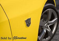 2010 2011 Camaro Transformers Genuine GM Fender Auto-Bot Emblem