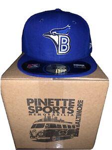 Bluefield Blue Jays MiLB New Era Diamond 59Fifty Cap Hat Mens Size 7 5/8 Toronto