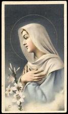 """santino-holy card""""""""ediz. NB serie L  n.575 AVE MARIA"""