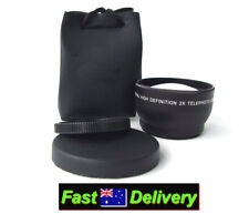 52mm 2.0x TELEPHOTO Lens For Nikon AF-S 18-55mm ED & AF-S 18-55mm VR Lenses